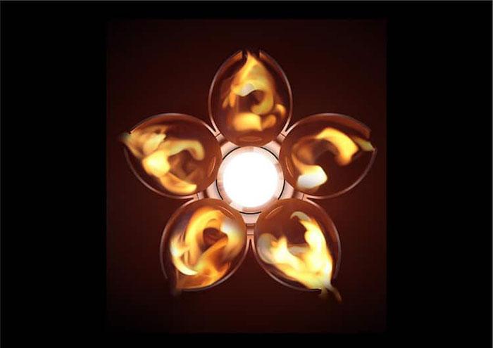 cherry-blossom-torch-design