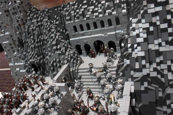 lego castle steps