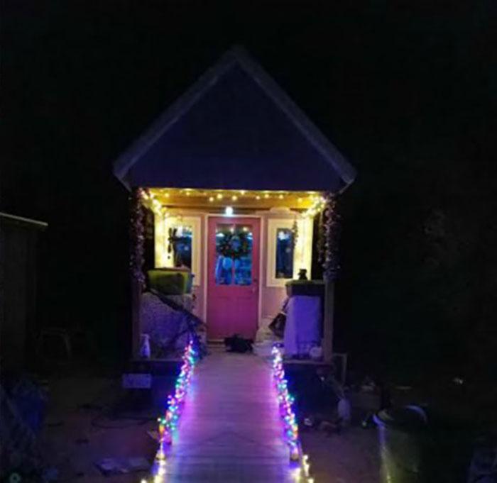 light up tiny home