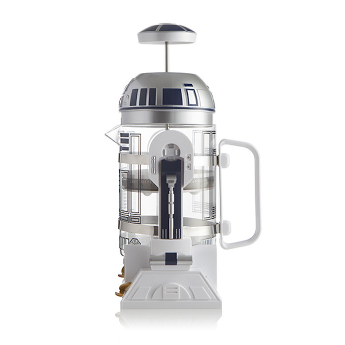 r2-d2 coffee press side view