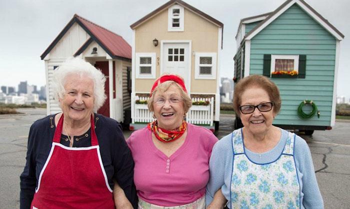seniors living in small homes