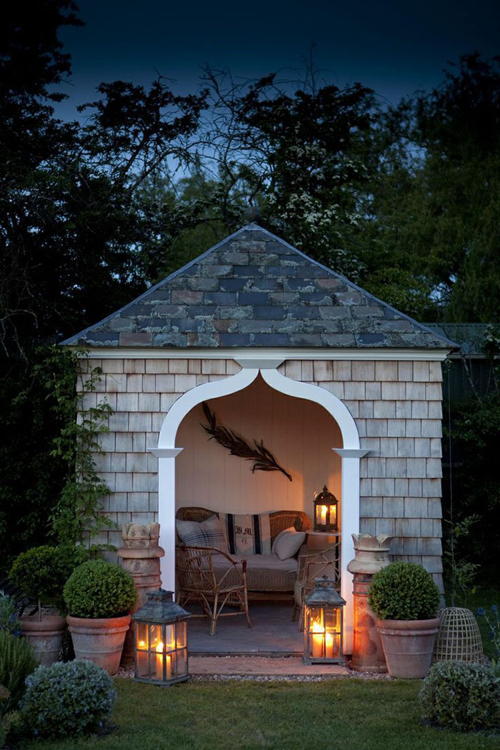 Stylish She Sheds Are The Relaxing Women S Version Of