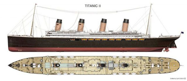 titanic replica image