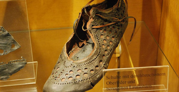 2000 year old roman shoe