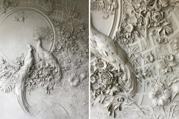 Bas-Relief Sculptures on Walls
