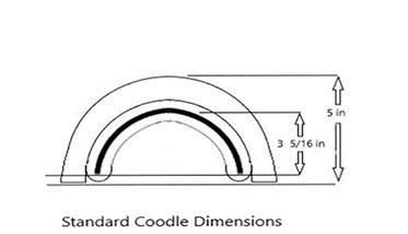Coodle Pillow dimensions
