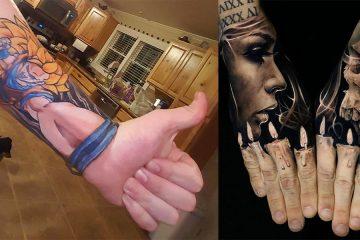 Coolest 3D Tattoos