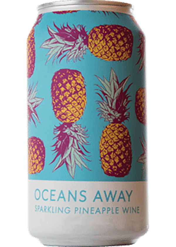 Oceans Away's Sparkling Pineapple Wine