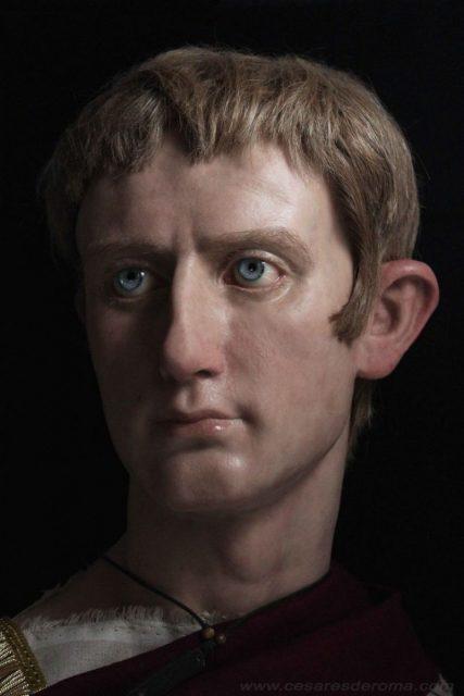 Octavian Augustus real life