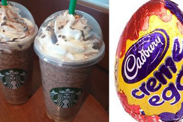 Secret cadbury creme egg starbucks menu