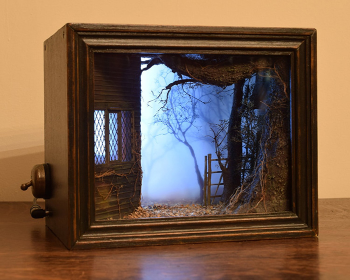 andy acres shadow box dioramas