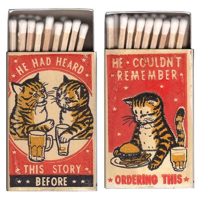 arna miller ravi zupa matchboxes illustrations
