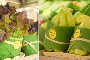 banana leaf packaging asia