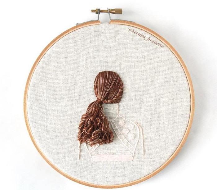 bernita broderie 3d hair embroidery