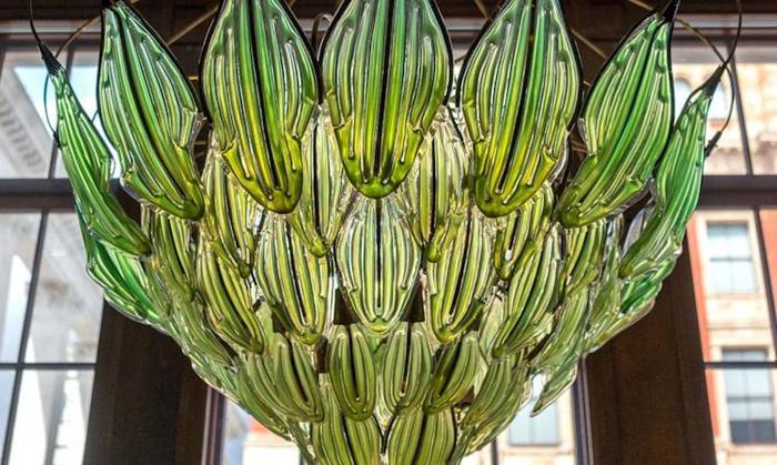 bionic chandelier by julian melchiorri