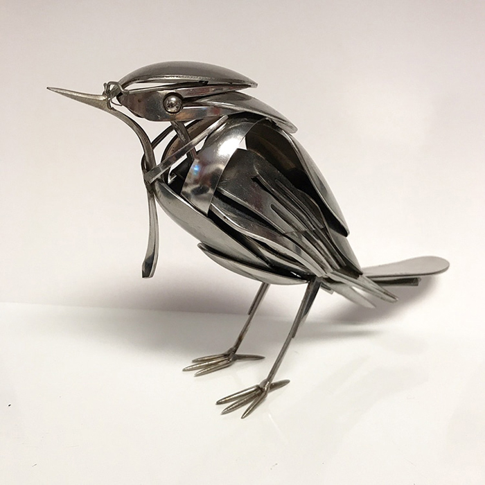 bird sculpture by matt wilson