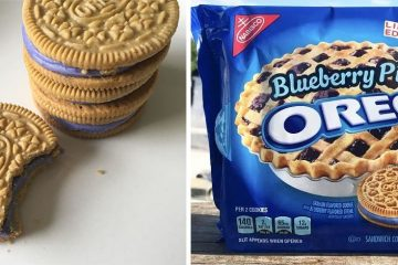 blueberry pie oreos