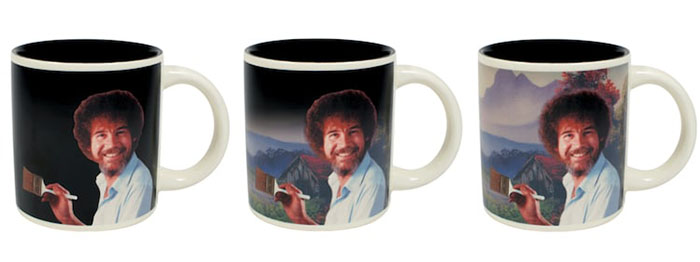 bob-ross-heat changing mug