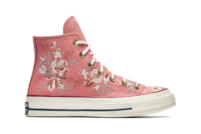 converse floral parkway punch coral