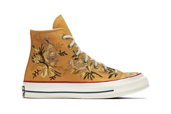 converse floral parkway turmeric gold