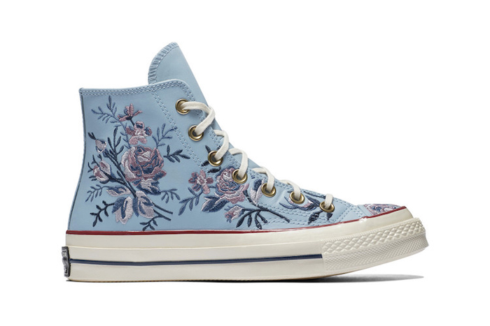 converse floral parkway washed denim