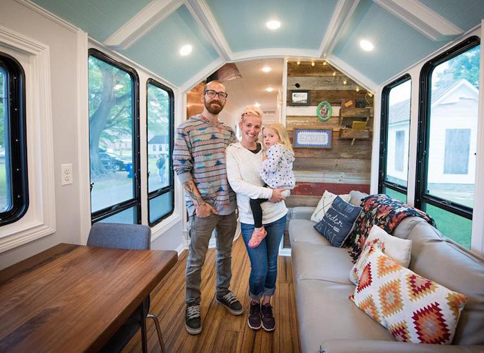 davis couple mobile school bus home