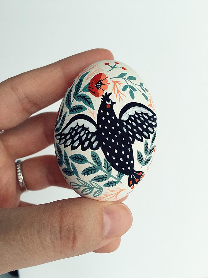 dinara mirtalipova easter egg illustration