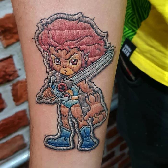 duda lozano tattoo thundercats