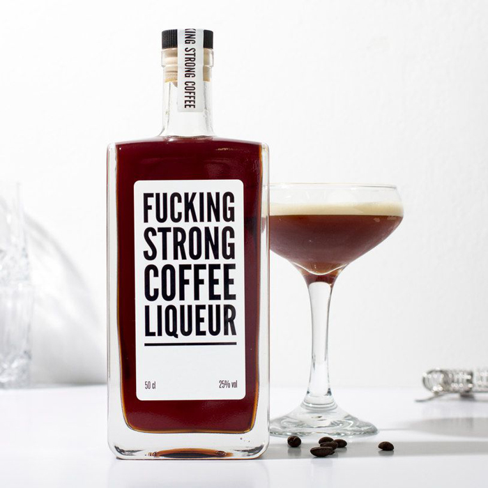 fucking strong coffee liquer