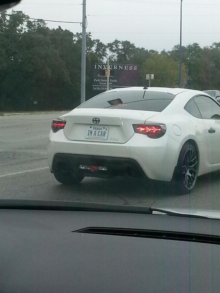 funny license plates car identity