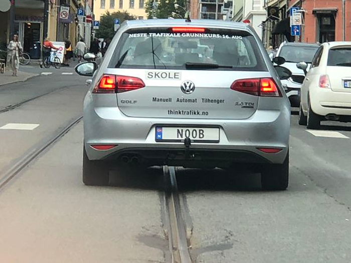funny license plates noob