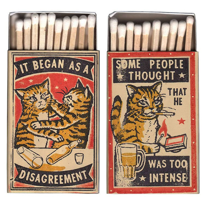 funny little matchboxes