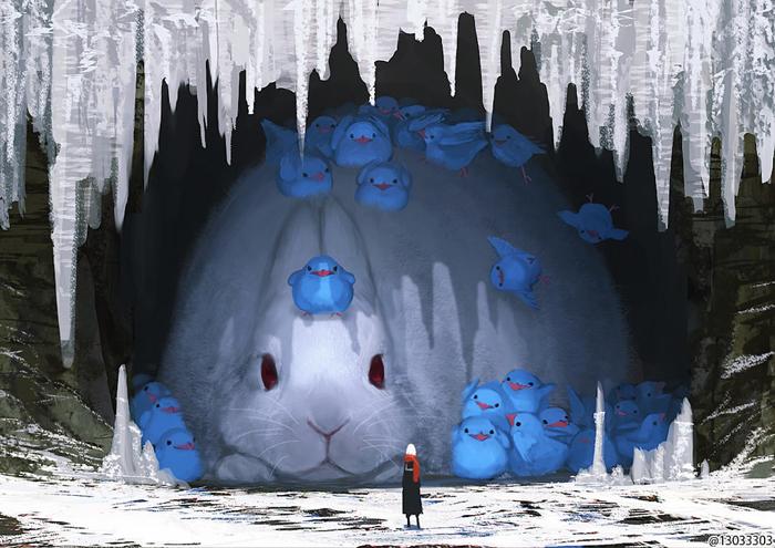 giant bunny monokubo