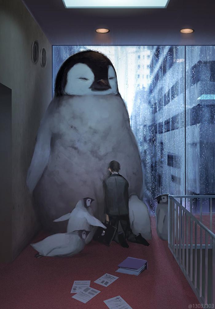 giant penguin monokubo