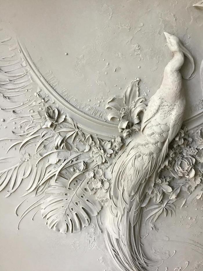 goga tandashvili bas-relief sculpture walls