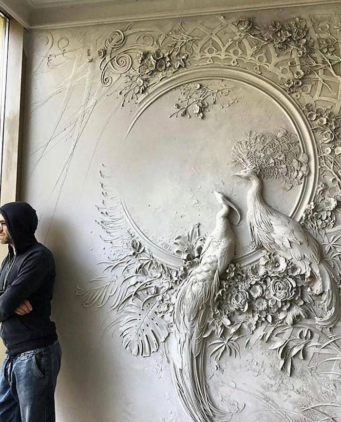 goga tandashvili bas-relief sculptures