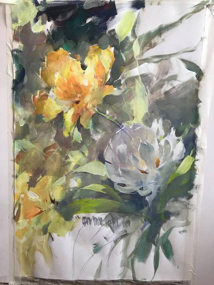 goga tandashvili impressionist style painting