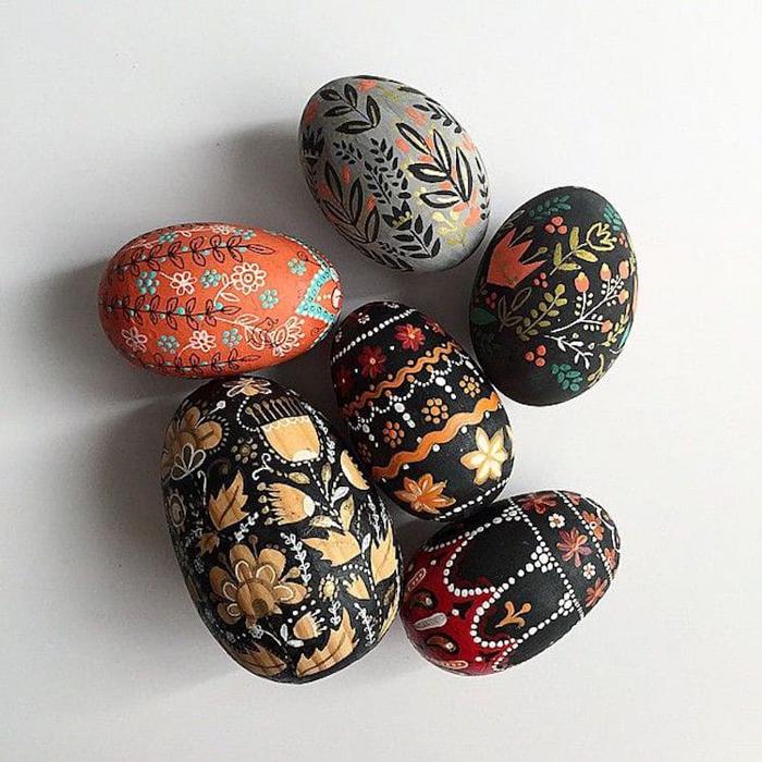 hand-painted easter eggs by dinara mirtalipova