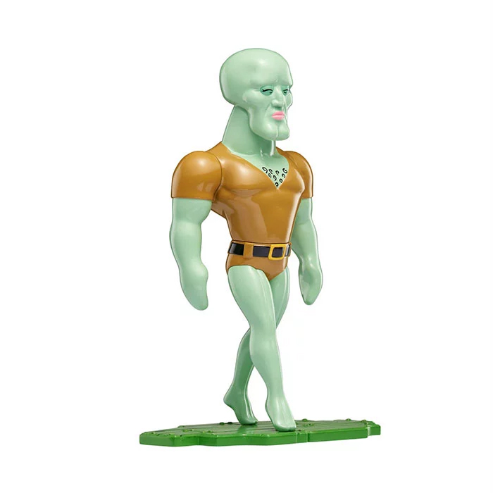handsome squidward toy
