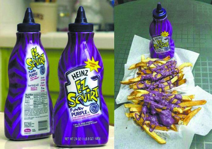 heinz funky purple ez squirt