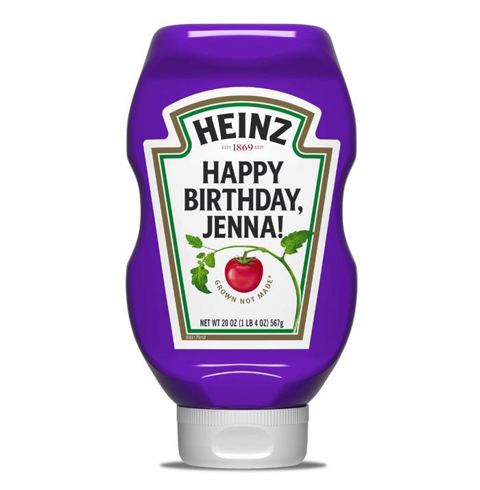 heinz twitter purple ketchup
