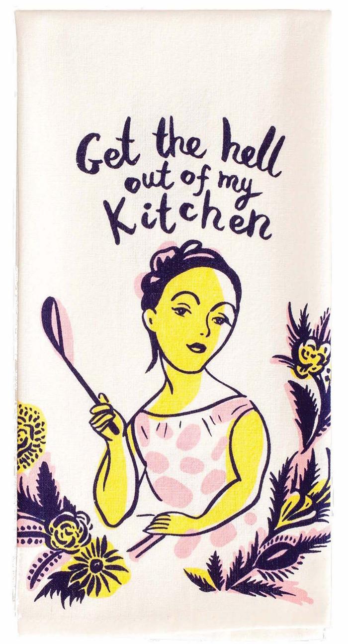 hilarious gifts dish towel