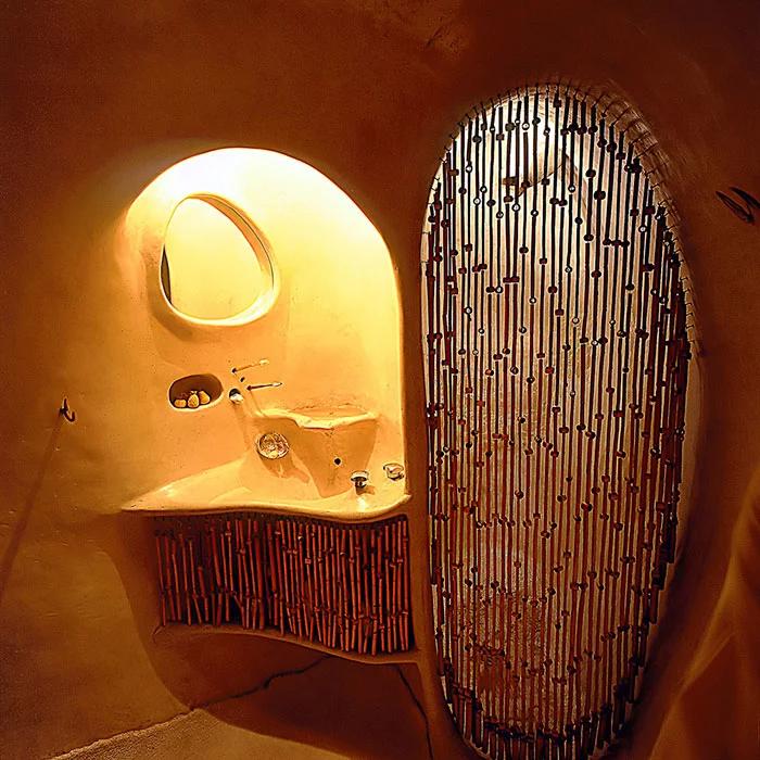 hobbit house bathroom