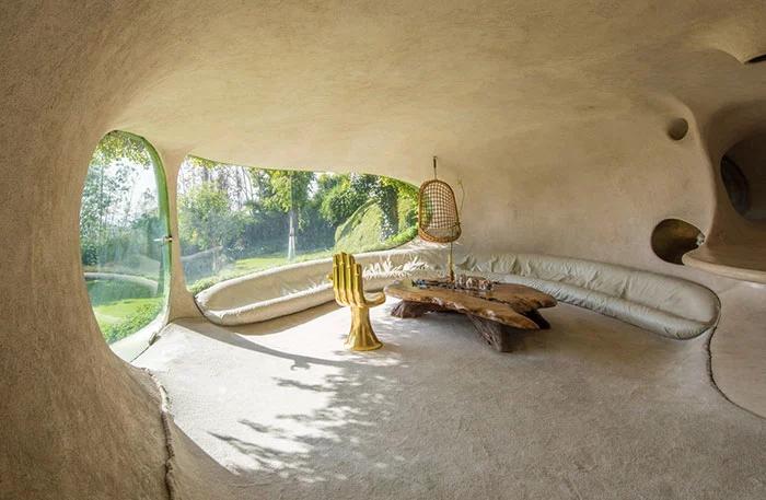 hobbit house living room