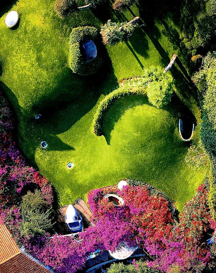 hobbit house top view