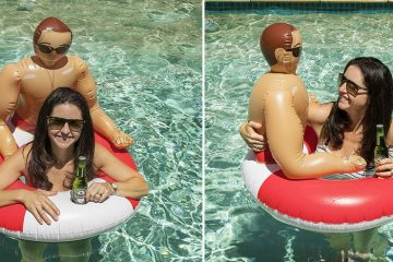 inflatable hunk pool float