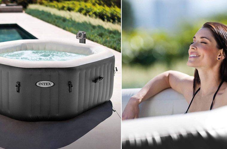 inflatable spa pool