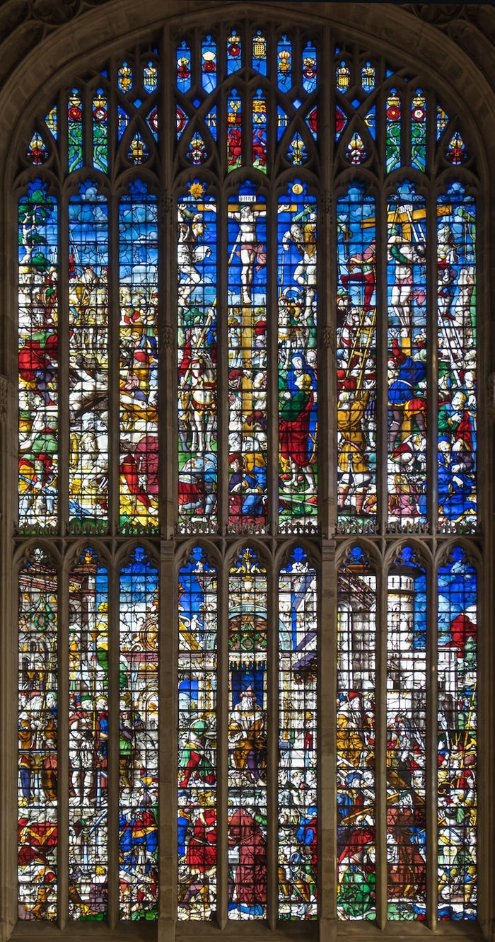 kings college chapel windows