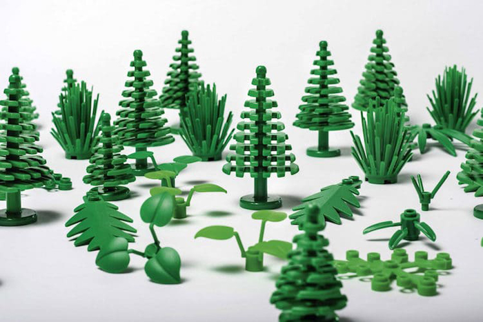 lego bioplastic collection