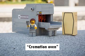 lego funeral set